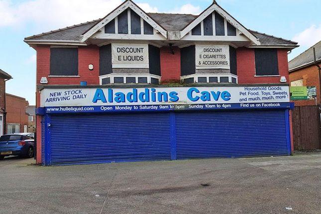 Thumbnail Retail premises for sale in Woodbine Cottages, Endike Lane, Hull