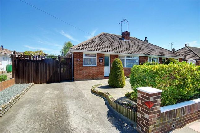 Thumbnail Semi-detached bungalow for sale in Durrington Lane, Salvington, West Sussex