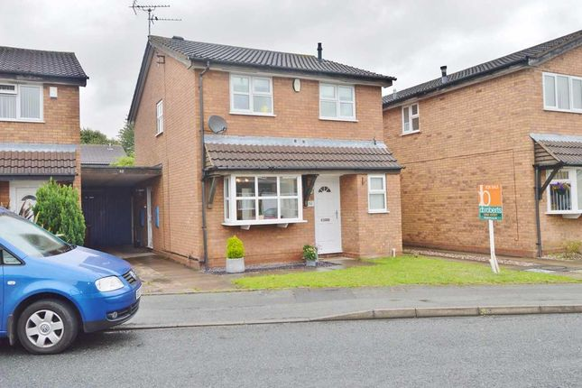 Thumbnail Detached house for sale in Leybourne Crescent, Pendeford, Wolverhampton