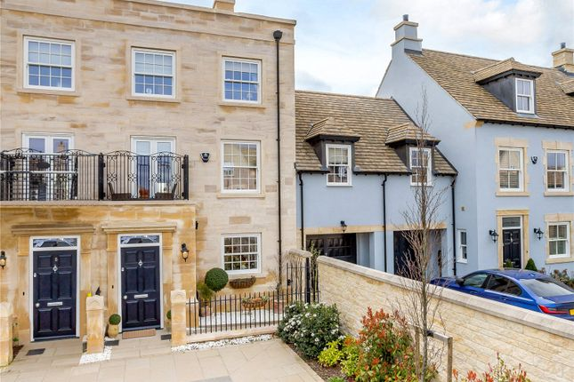 4 bed terraced house for sale in Hereward Place, Stamford, Lincolnshire PE9