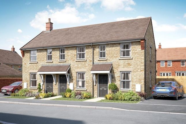 """Thumbnail Semi-detached house for sale in """"Hursley"""" at Knolles Drive, Stanford In The Vale, Faringdon"""