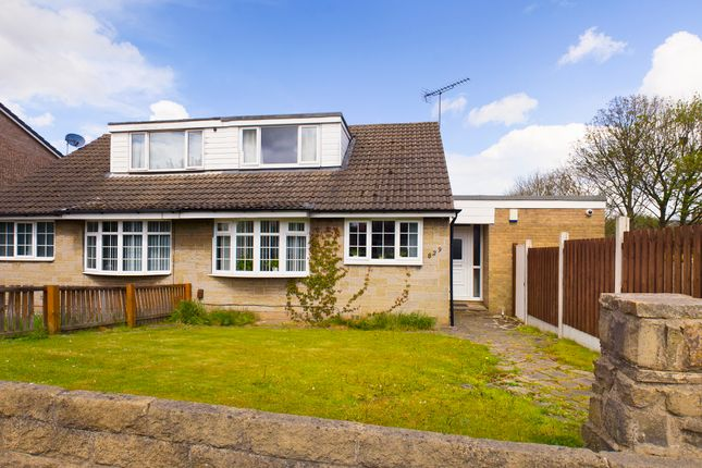 3 bed semi-detached house for sale in Cleckheaton Road, Oakenshaw, Bradford BD12