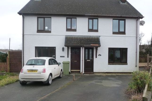 Thumbnail Semi-detached house to rent in Haulfan, Ffos-Y-Ffin, Aberaeron