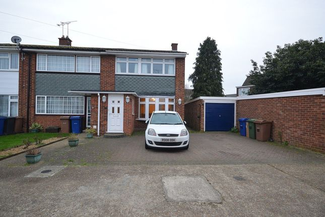 Thumbnail End terrace house to rent in Colville Close, Stanford-Le-Hope, Essex
