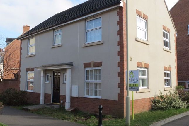 Thumbnail Detached house to rent in Wattisham Road Kingsway, Quedgeley, Gloucester