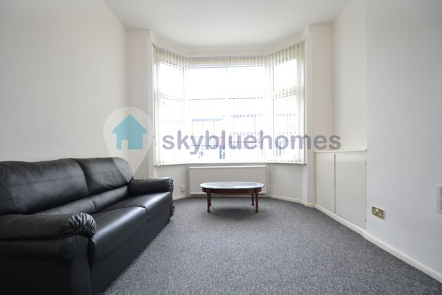 Thumbnail Town house to rent in Evington Road, Leicester