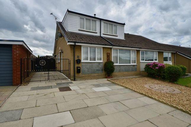 Thumbnail Semi-detached bungalow for sale in Fordside Avenue, Clayton Le Moors, Accrington