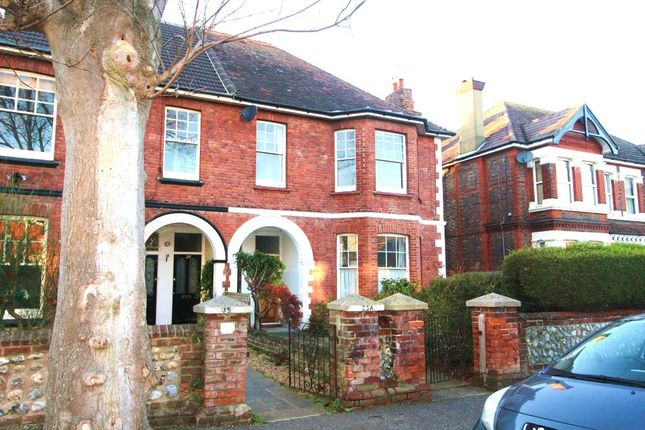 Thumbnail Flat to rent in Belsize Road, Worthing