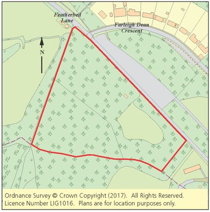 Thumbnail Land for sale in Six Acres, Featherbed Lane, Croydon, Surrey