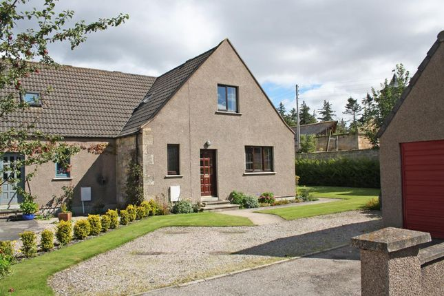 Thumbnail Semi-detached house to rent in Moy House Court, Forres