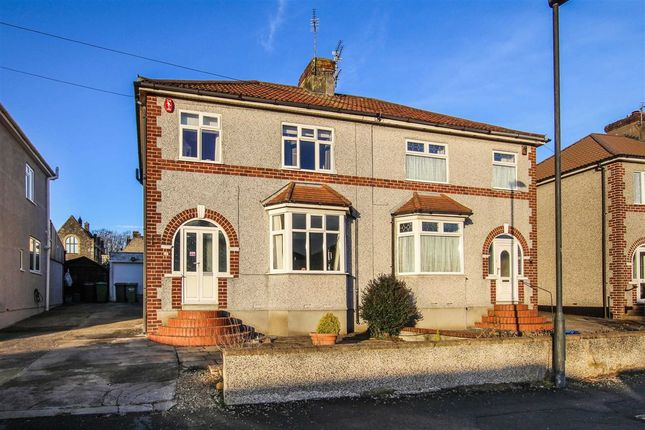 Thumbnail Semi-detached house for sale in Charnell Road, Staple Hill, Bristol