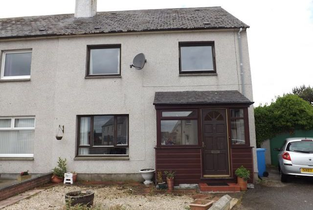Front View of 6 Rovers Crescent, Balintore IV20