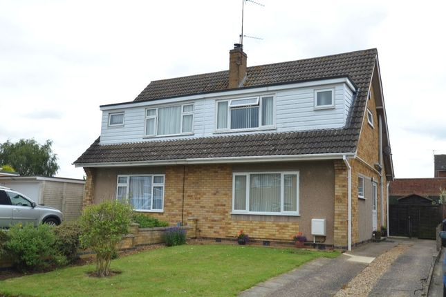 Thumbnail Semi-detached house to rent in St. Augustines Close, Kettering