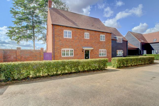 Thumbnail Detached house for sale in Oaken Pin Close, Cranfield, Bedfordshire