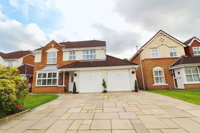 Thumbnail Detached house for sale in Reedley Drive, Walkden, Manchester