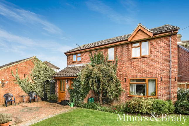 Thumbnail Detached house for sale in Dover Court, Caister-On-Sea, Great Yarmouth