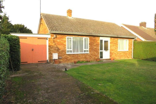 Thumbnail Detached bungalow for sale in Serby Avenue, Royston