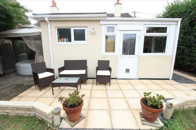 Rear Patio of Sutton Court Drive, Rochford SS4