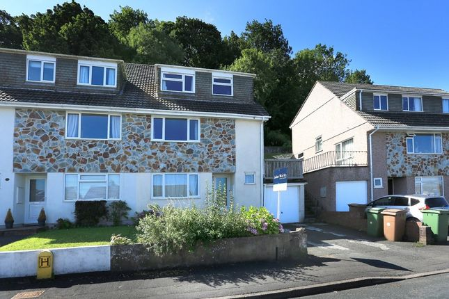 Thumbnail Semi-detached house to rent in Dunstone View, Plymstock, Plymouth