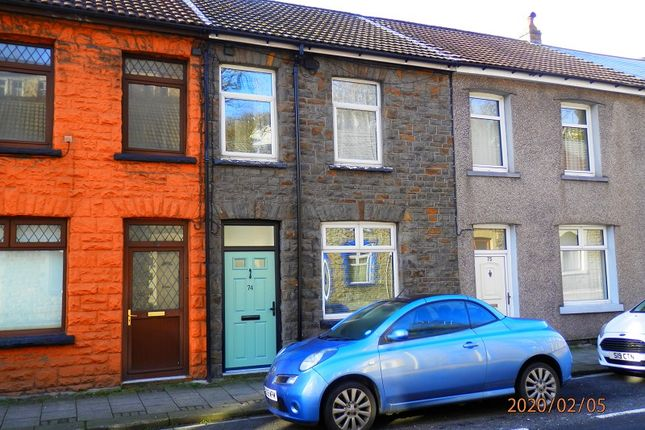 Thumbnail 3 bed terraced house for sale in North Road, Porth, Rhondda Cynon Taff.