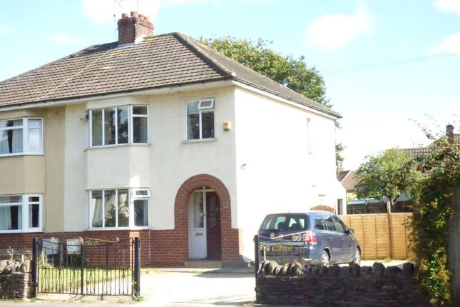 Thumbnail Semi-detached house for sale in High Street, Winterbourne, Bristol, Gloucestershire