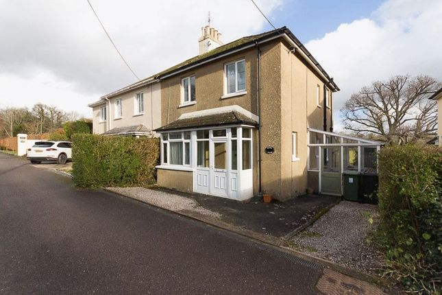 Thumbnail Semi-detached house to rent in Highlands Park, Chudleigh, Newton Abbot