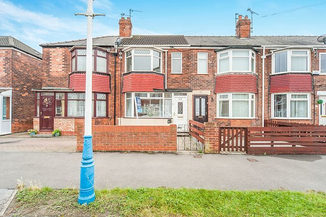 Thumbnail Terraced house to rent in Brendon Avenue, Hull