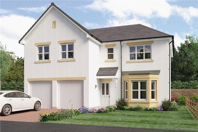 "Thumbnail Detached house for sale in ""Jura"" at Springhill Road, Barrhead, Glasgow"