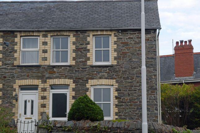Thumbnail End terrace house to rent in Pwllhobi, Llanbadarn Fawr
