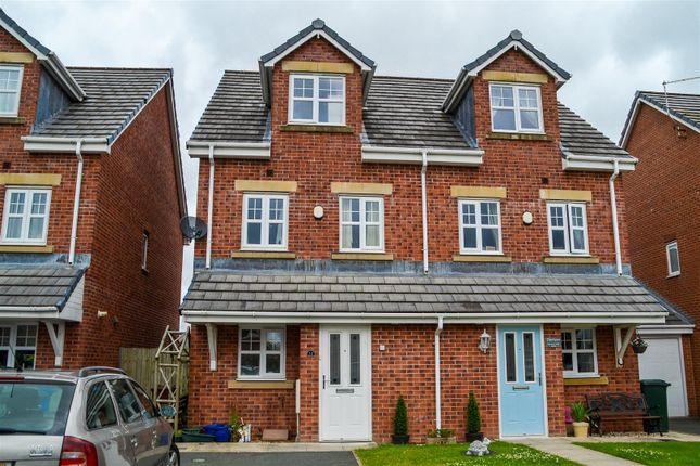 Thumbnail Semi Detached House For Sale In Darwen Fold Close Buckshaw Village Chorley