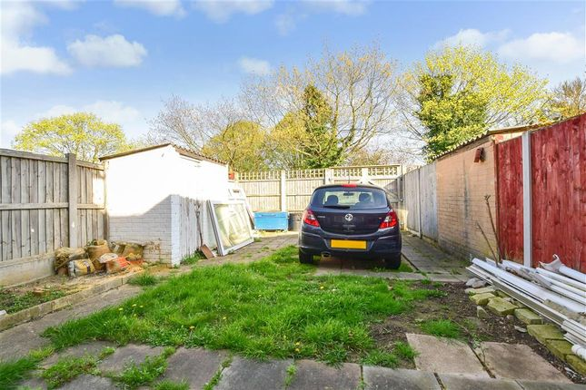 Rear Garden of Tiptree Crescent, Ilford, Essex IG5