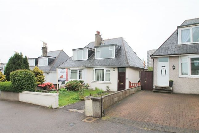 Thumbnail Semi-detached house for sale in 38, Donbank Terrace, Aberdeen AB242Sj