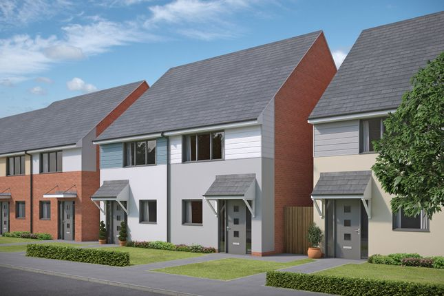 "Thumbnail Semi-detached house for sale in ""Dean"" at Armstrong Road, Newcastle Upon Tyne"