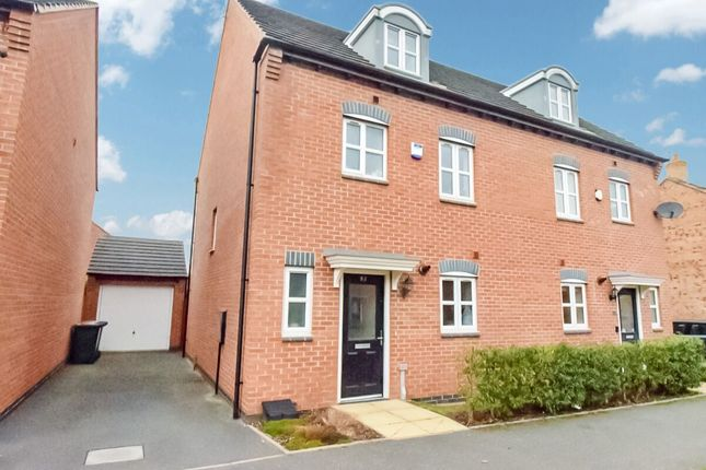 Thumbnail Semi-detached house for sale in Anglian Way, New Stoke Village, Coventry
