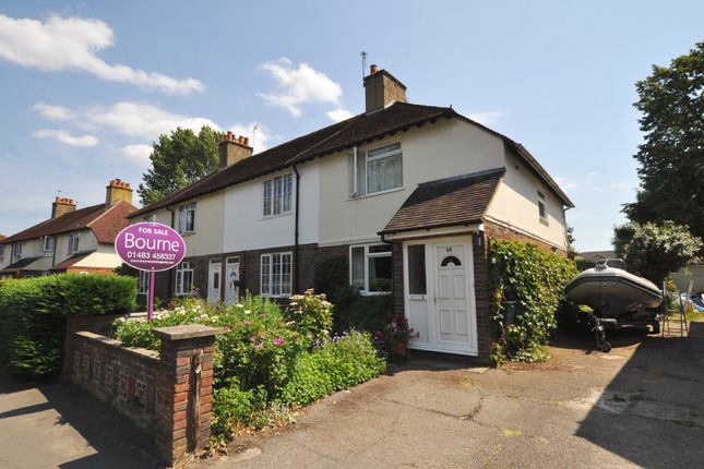 End terrace house for sale in Woking Road, Guildford