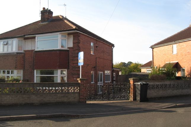 2 bed semi-detached house to rent in Radcliffe Drive, Derby