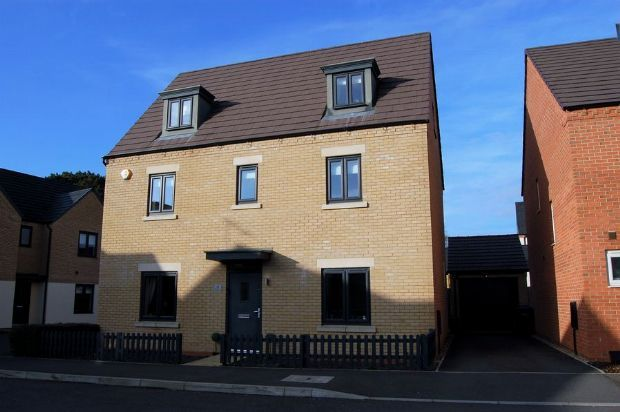 Thumbnail Detached house for sale in Bronte Close, Marina Park, Northampton