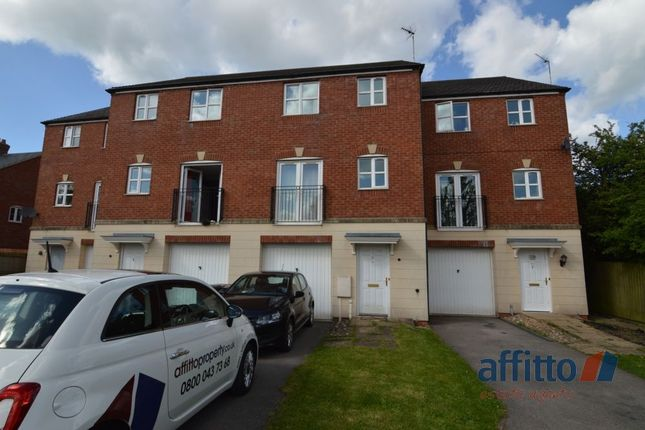 Thumbnail Town house for sale in All Saints Close, Coalville