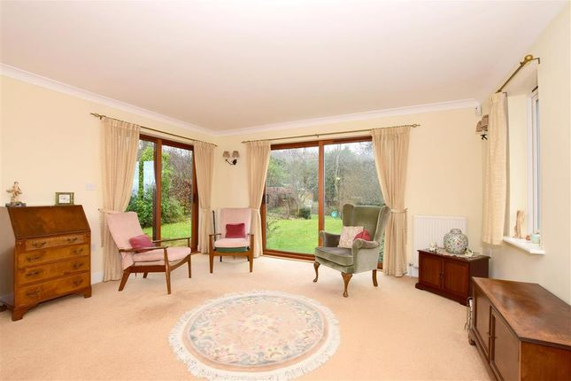 Thumbnail Detached bungalow for sale in Beacon Gardens, Crowborough, East Sussex