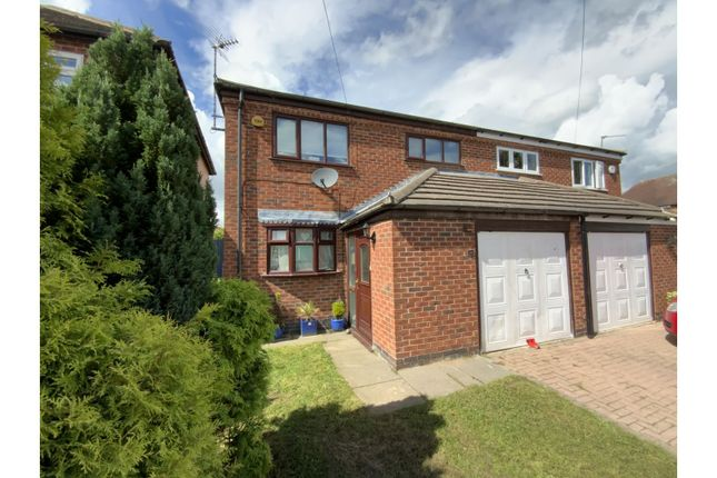 3 bed semi-detached house for sale in Glen Park Avenue, Glenfield, Leicester LE3
