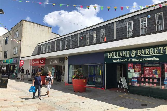 Thumbnail Retail premises to let in Unit 3, 19-21, Fore Street, St Austell, Cornwall