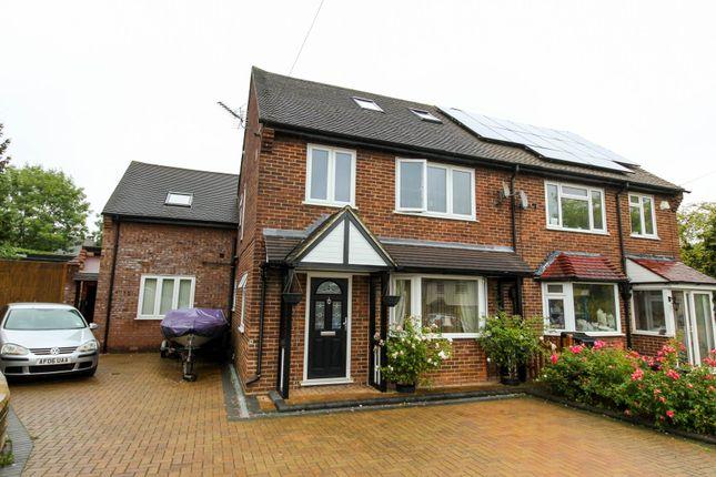 Thumbnail Semi-detached house for sale in Rous Road, Buckhurst Hill