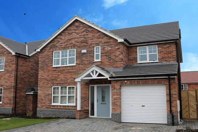 Thumbnail Detached house for sale in Plot 3, The Kingston, Sycamore Gardens, Cherry Lane, Wootton, North Lincolnshire