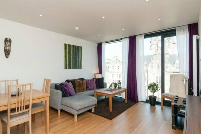 Thumbnail 1 bed flat to rent in Simpson Loan, Edinburgh