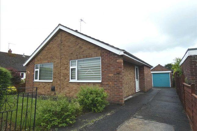 Thumbnail Detached bungalow for sale in Orchard Drive, Burton, Scunthorpe