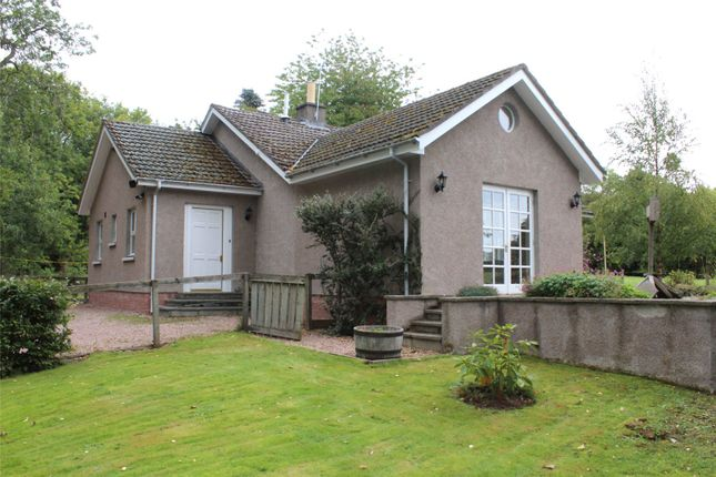 Thumbnail Detached bungalow to rent in Back Greens Cottage, Fetternear, Kemnay, Aberdeenshire