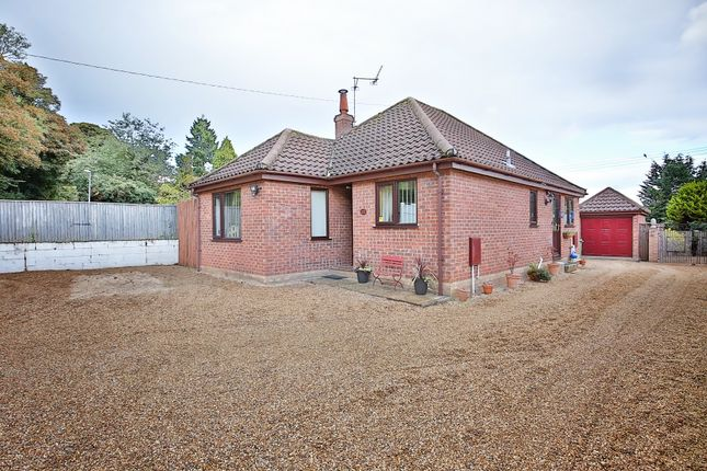 Thumbnail Detached bungalow for sale in Buxton Road, Spixworth, Norwich