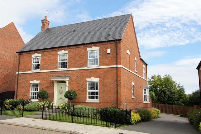 Thumbnail Detached house for sale in Sweet Leys Way, Melbourne, Derby