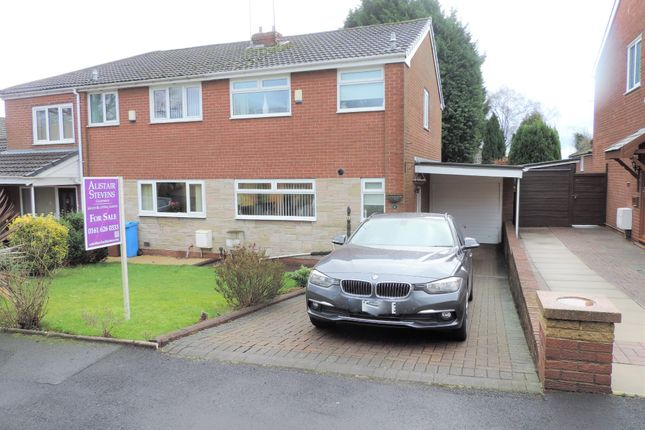Thumbnail Semi-detached house for sale in 6 Malton Close, Chadderton