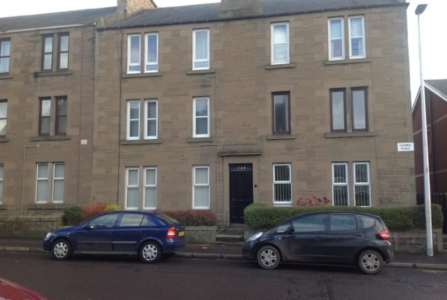 Thumbnail Flat to rent in 1 Cairnie Place, Arbroath